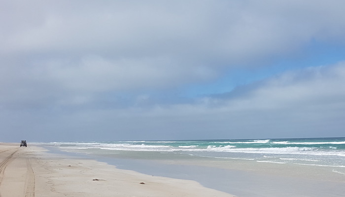 South of Port Gregory.