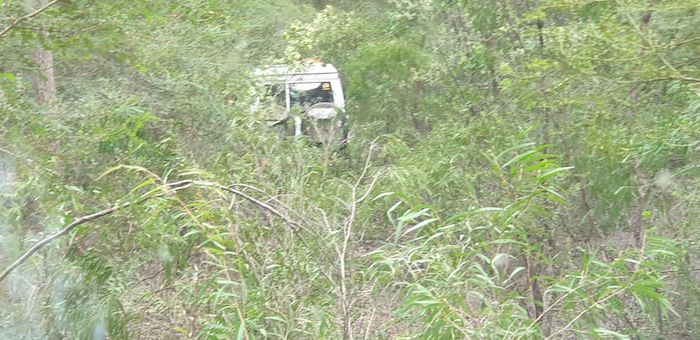 It was sometimes difficult to see a vehicle only five to six metres ahead.
