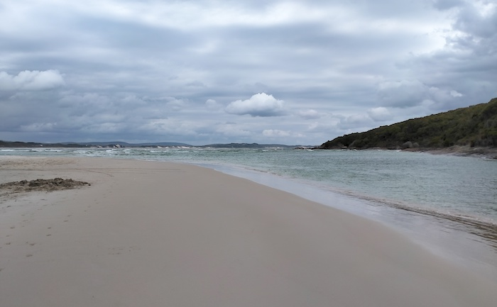 Mouth of the Nornalup Inlet.