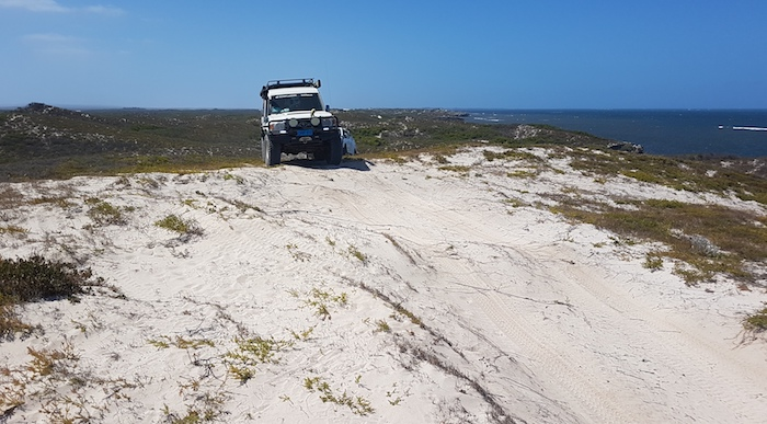 Mushy's Troopy just south of Coolimba.