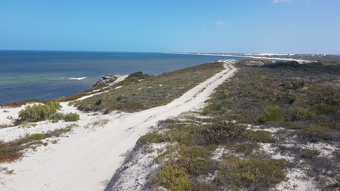 Approaching Coolimba from the south.